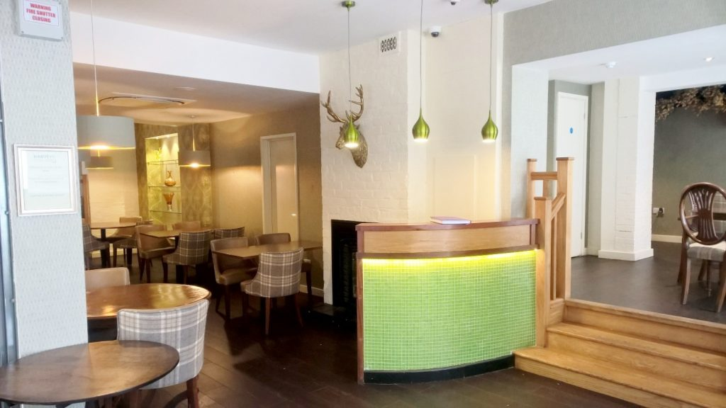 Restaurant Interior Fit Out - Reception Desk
